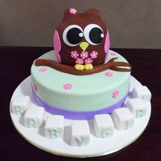 Owl baby shower cakes become popular baby shower cakes design that incorporates the owl design as its basic inspiration. Baby Favors, Baby Shower Favors, Baby Shower Cakes, Crazy Cakes, Fancy Cakes, Owl Baby Shower Decorations, Owl Decorations, Owl Shower, Shower Ideas