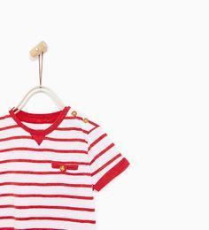 Obrázok 2 z BASIC TRIČKO PRUHOVANÉ od spoločnosti Zara