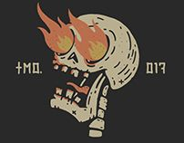 Is soo cool 00 Gravure Illustration, Illustration Art, Art Sketches, Art Drawings, Graffiti, Skeleton Art, Arte Horror, Grafik Design, Skull Art