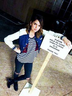 Shelley Hennig - Hall monitor #TeenWolf #Season6 #malia