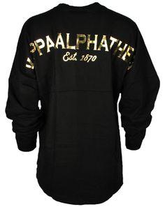 Kappa Alpha Theta Crest Derby Jersey by Adam Block Design   Custom Greek Apparel & Sorority Clothes   www.adamblockdesign.com