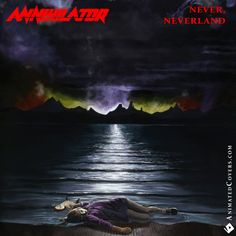 Annihilator - Never, Neverland (animated album cover GIF) #annihilator #neverland #neverneverland #jeffwaters #thrashmetal #heavymetal #metal #truemetal #metalheads #animatedcovers #albumanimations #albumgifs