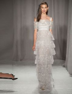 Best bridal looks from the spring/summer 2014 catwalks | ELLE UK  WANT!
