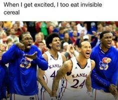 Invisible cereal. -D