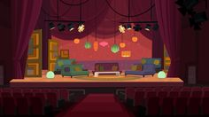 Gravity Falls Town, Animation Schools, Episode Backgrounds, Stage Background, Total Drama Island, Anime Scenery Wallpaper, Neon Nights, Visual Development, Environmental Art