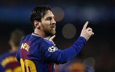 Download wallpapers Leo Messi, match, Barcelona, close-up, La Liga, Spain, Barca, Lionel Messi, FC Barcelona, football stars, Messi