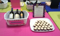 on Command's Carrot Cake cupcakes are paired with Zinfandel wines ...