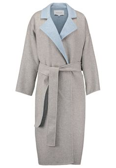 Derek Lam 10 Crosby Wollmantel / klassischer Mantel - grey/pale blue - Zalando.de