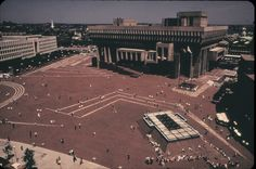 Architizer - Tracings Of The Future: Historic Boston City Hall Drawings Chart The Rise Of Brutalist Icon