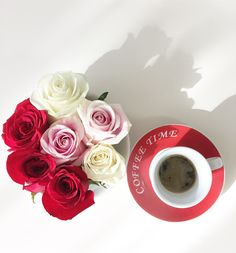 #coffee#roses#anotherkindofbreakfast#