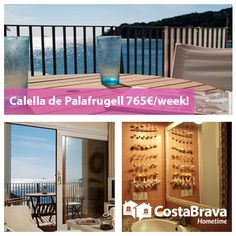 Comfortable apartment with a nice sea view located in the center of Calella de Palafrugell in front of the beach of Les Voltes. More information/ Más información: http://costabravahometime.com/accommodation-costa-brava/calella-de-palafrugell/central-apartment-with-terrace
