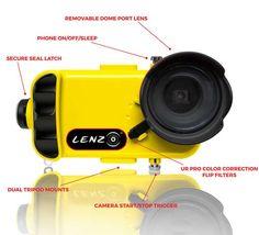LenzO underwater housing for iPhone 6/6s