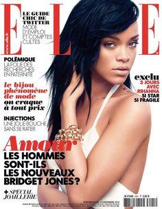 Rihanna: Covers Elle November 2012