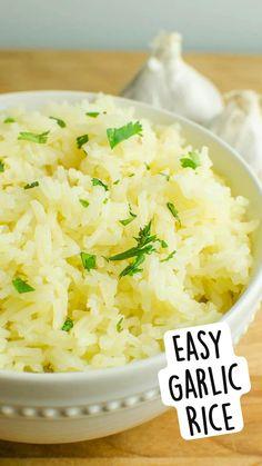 Side Dish Recipes, Veggie Recipes, Great Recipes, Vegetarian Recipes, Dinner Recipes, Cooking Recipes, Favorite Recipes, Healthy Recipes, Rice Side Dishes