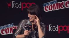 resident evil nycc new york comic con milla jovovich resident evil: the final chapter #humor #hilarious #funny #lol #rofl #lmao #memes #cute