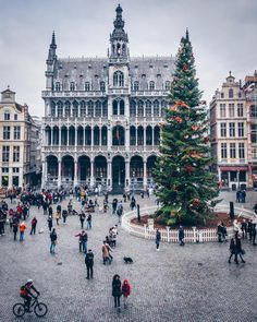 """everything-thing: """" Brussels Grand Place by Alan Brutenic """""""