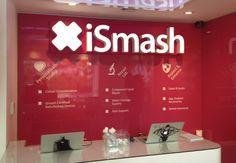iSmash store, King's Road, London