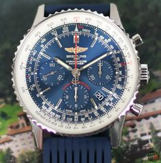 Breitling Navitimer, Breitling Watches, Watch Brands, Aurora, Belts, Bracelet Watch, Drop, Steel, Accessories