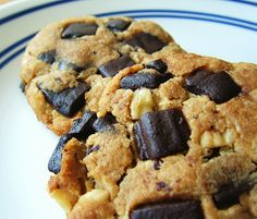 Low Carb Chocolate Chunk Cookies. I make these with Xylitol and use Candice's homemade chocolate chunks with this recipe. I've used both Almond and Coconut....my fave is Coconut.