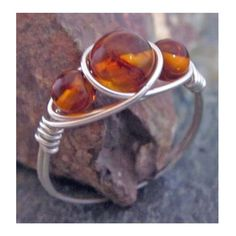 Genuine Baltic Honey Amber Ring Argentium Silver All Sizes Amber Jewelry | eBay