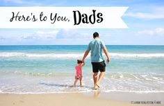 Father's day is a few days away. Take time to honor the amazing dads!