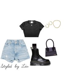 Teenage Outfits, Cute Outfits For School, Teen Fashion Outfits, Trendy Outfits, Summer Outfits, Girl Outfits, Mode Chanel, Fashion Capsule, Aesthetic Clothes