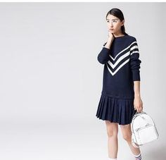 WTP-D Casual Cotton Pleated Dress