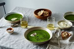 // Turn Any Bunches of Greens Into a Lively Soup