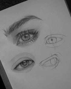 Line work with realism 👍 💯 Look at the lines, how the basic eye sketch starts ! And then have a look at the shades 😍💯 Swipe ⬅️↩️ SAVE post… Cool Art Drawings, Pencil Art Drawings, Art Drawings Sketches, Realistic Drawings, Regard Animal, Eye Sketch, Eye Art, Aesthetic Art, Art Sketchbook