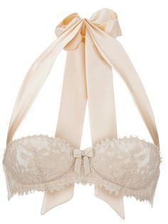 Boudoir Lace & Ribbon halter bra