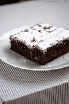 Brownie bez masła i bez mąki  #gryz #MagazynGRYZ