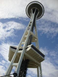 Space needle, Seattle, Washington.  Chase, Trenton & I visited the space needle on our 3800 mile road trip!    May 2007