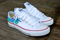 Moccasin Converse shoes by BStreetShoes on Etsy, $139.00