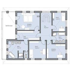 Haus Berger – Obergeschoss