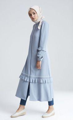 # - World Fashion Week Islamic Fashion, Muslim Fashion, Modest Fashion, Korean Fashion, Fashion Dresses, Seoul Fashion, Abaya Fashion, Modest Wear, Modest Dresses