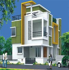 Buy a Villa in Purple Town - Gopanpally Hyderabad. Explore Purple Town villa floor plan price amenities project construction status & possession date. verified with real Bungalow House Design, House Front Design, Modern House Design, Building Elevation, House Elevation, Independent House, Duplex House Plans, Modern Architecture House, Story House