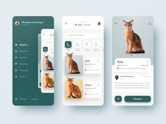 A new bunch of UI design examples is ready, this time it's all about app interfaces: check a variety of mobile design concepts and get inspired! Mobile App Design, Mobile App Ui, Mobile Code, Creative Challenge, Parallax Effect, To Do App, Interface Web, Interface Design, Design Responsive
