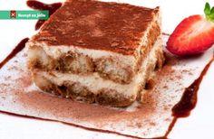 Tiramisu without mascarpone Classic Tiramisu Recipe, Italian Tiramisu, Mascarpone Recipes, Cake Recipes, Dessert Recipes, Great Desserts, Unsweetened Cocoa, Kakao, Fondant Cakes