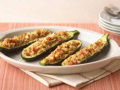 Simple Stuffed Zucchini Boats