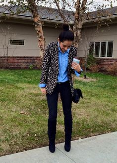 Leopard and denim | Mexi-Sweet