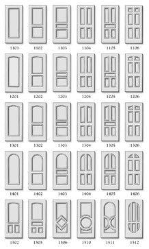 Premium Doors - traditional - interior doors - huntington - Interior Door and Closet Company