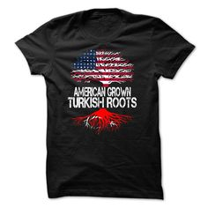 ARE YOU AMERICAN GROWN WITH TURKISH ROOTS T-Shirts, Hoodies. CHECK PRICE ==►…