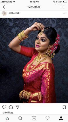 Fulfill a Wedding Tradition with Estate Bridal Jewelry Indian Bridal Photos, Indian Bridal Fashion, Indian Bridal Makeup, Indian Wedding Jewelry, Indian Bridal Wear, Bridal Silk Saree, Saree Wedding, Bengali Wedding, Tamil Wedding