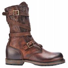 Vintage Shoe Co Jennifer Boots (Brown Leather) - Women's Boots - 6.5 M
