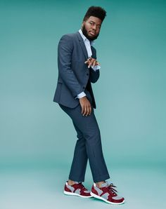 The Confidence and Comfort of Pop's Newest Big Thing, Khalid Khalid Singer, Love Moves, Music Jokes, Justin Bieber Wallpaper, Famous Singers, Music People, Sound Of Music, Music Artists, Gq