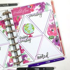 """734 Likes, 83 Comments - Liz Hayes Nielson (@thenotableliz) on Instagram: """"Can I say how much I absolutely LOVE how this #happyplannerbujo turned out this week in my Student…"""" happy planner bullet journal"""