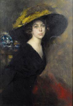 Lola Rosique by Ambrogio Antonio Alciati (Italian 1878-1929)