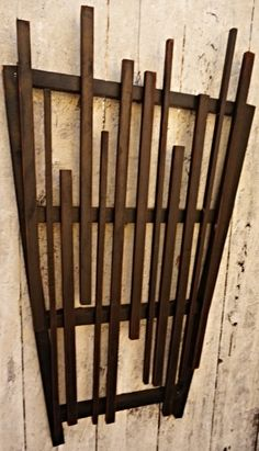 Handmade Wooden Trellis. View more at www.harwelldesign.com