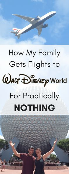 How to get cheap flights! This is the exact method I use to get my family of 6 to fly to Disney World for (almost) free! Read about the best airline miles perk in the industry and how your family can get cheap flights too. #disneyworld #familytravel #cheapflights #freeflights #southwest