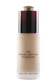 kevyn aucoin foundation  http://www.refinery29.com/2014/12/79917/best-beauty-products-2014#slide23  Do you hate heavy, cakey foundations? Your prayers were answered this year. Kevyn Aucoin's base has a smooth, water-like consistency, but offers unmatched coverage.Kevyn Aucoin The Sensual Skin Fluid Foundation, $65, available at Beauty.com.